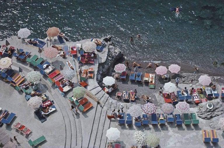 Positano Beach Slim Aarons Estate Edition Photograph By
