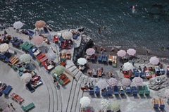 'Positano Beach' Slim Aarons Limited Estate Edition