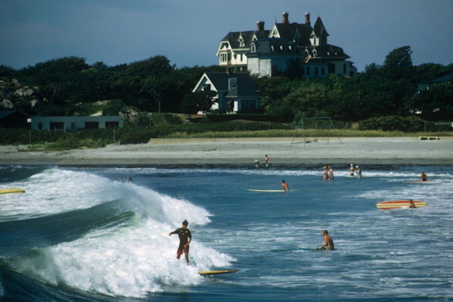 Rhode Island Surfers, 1965 - Slim Aarons, 20th Century, Watersport photography