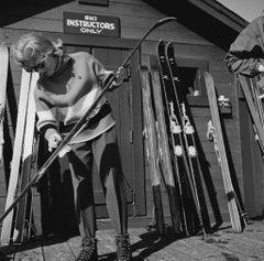 'Ski Instructors Only' 1955- Slim Aarons Limited Edition Estate Print