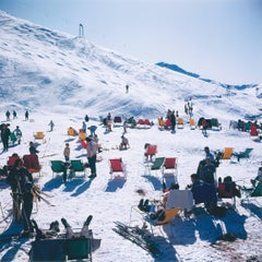 Skiers at Verbier (Slim Aarons Estate Edition)