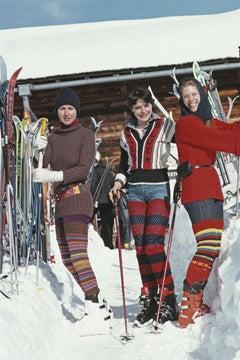 Skiing In Gstaad ' Slim Aarons Estate Edition