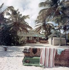 Slim Aarons - Antigua Beach Club - Estate Stamped