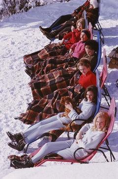 Slim Aarons, Apres Ski, Gstaad (Estate Edition)