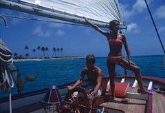 Slim Aarons, Bahamas Boat (Estate Edition)