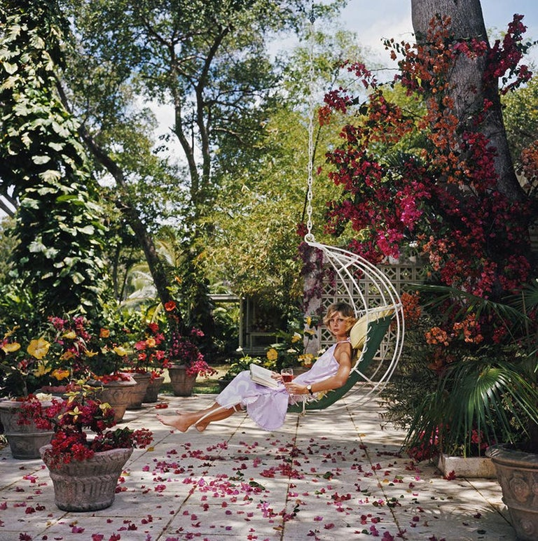 Slim Aarons, Barbados Bliss (Ava Marshall, Slim Aarons Estate Edition) - Photograph by Slim Aarons