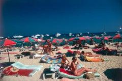 Slim Aarons, 'Beach at St Tropez' (Slim Aarons Estate Edition)