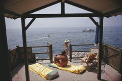 Slim Aarons, Beach Hut Antibes