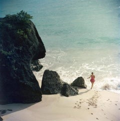 Slim Aarons - Bermuda Beach - Estate Stamped