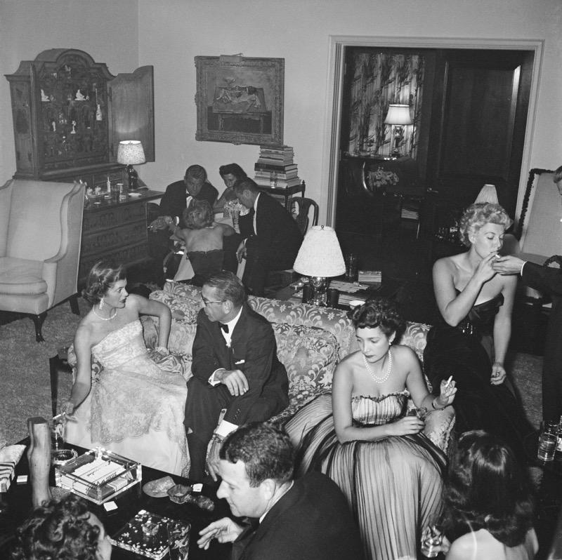 Slim Aarons, Beverly Hills Party (Estate Edition)