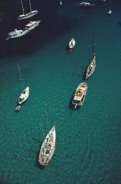 Slim Aarons  'Blue Seas, Corsica,' (Slim Aarons Estate Edition)