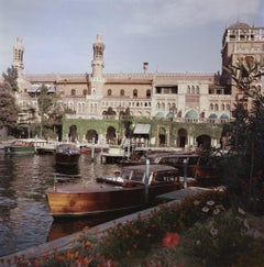Slim Aarons - Boats Before The Excelsior - Estate Stamped