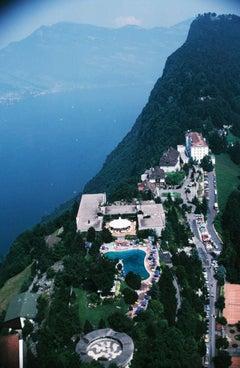 Slim Aarons, Burgenstock Hotel on Lake Lucerne (Estate Edition)