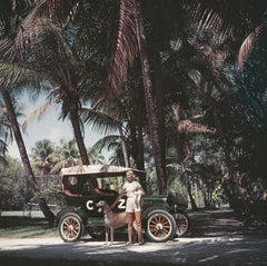 Slim Aarons, C Z & Friends in a Model T, Palm Beach (Slim Aarons Estate Edition)