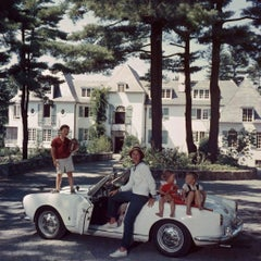 Slim Aarons - Cabot Family - Estate Stamped