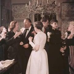Slim Aarons, Californian Cocktail Party (Audrey Hepburn)