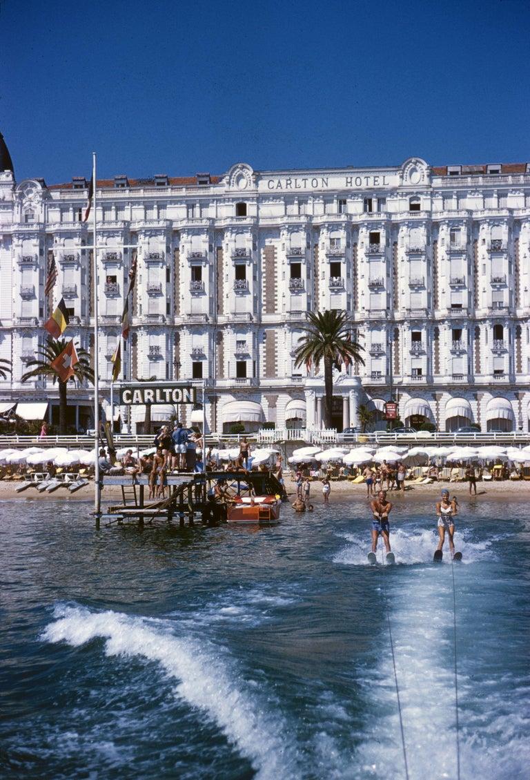 Slim Aarons 'Cannes Sports' (Slim Aarons Estate Edition) - Photograph by Slim Aarons