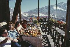 Slim Aarons 'Catching The Sun In Cortina'