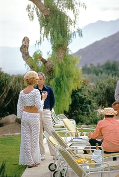 Slim Aarons 'Champagne by the Pool'