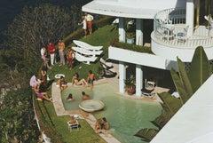 Slim Aarons 'Clifftop Pool, Barranca' (Slim Aarons Estate Edition)