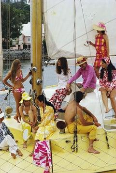 Slim Aarons 'Colorful Crew' (Slim Aarons Estate Edition)