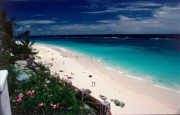 Slim Aarons, Coral Beach, Bermuda (Estate Edition) - Photograph by Slim Aarons