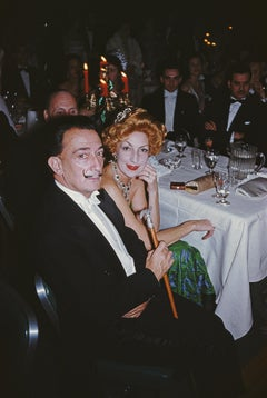 Slim Aarons, Dali's Party