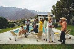 Slim Aarons 'Desert House Party' (Poolside Series, Slim Aarons Estate Edition)