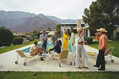 Slim Aarons 'Desert House Party' (Slim Aarons Estate Edition)