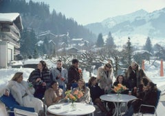 Slim Aarons, Drinks At Gstaad (Estate Edition)
