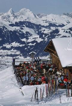 Slim Aarons, Eagle Club, Gstaad (Estate Edition)