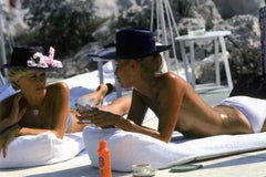 Slim Aarons Eden Roc Chat