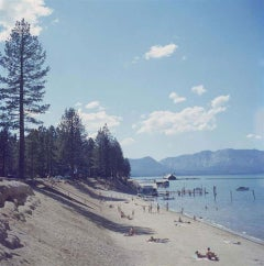 Slim Aarons, El-Dorado-Beach, Lake Tahoe (Estate Edition)