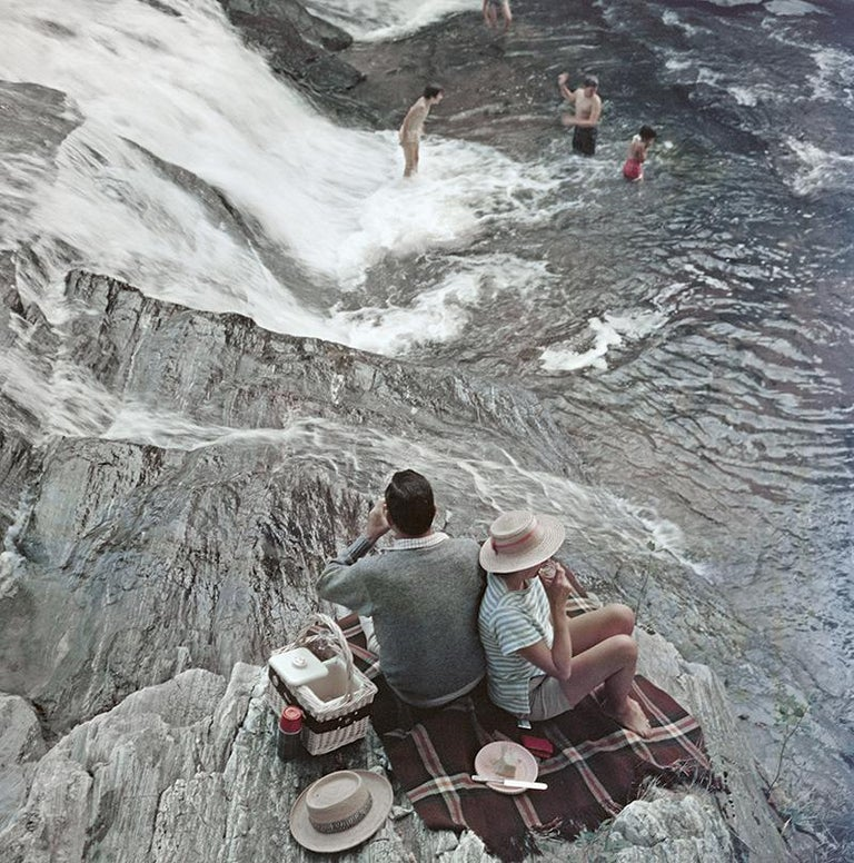 Slim Aarons Estate Edition - Campbell Falls - Photograph by Slim Aarons