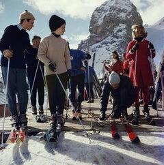 Slim Aarons Estate Edition - Cortina d'Ampezzo