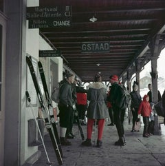 Slim Aarons Estate Edition - Gstaad Station