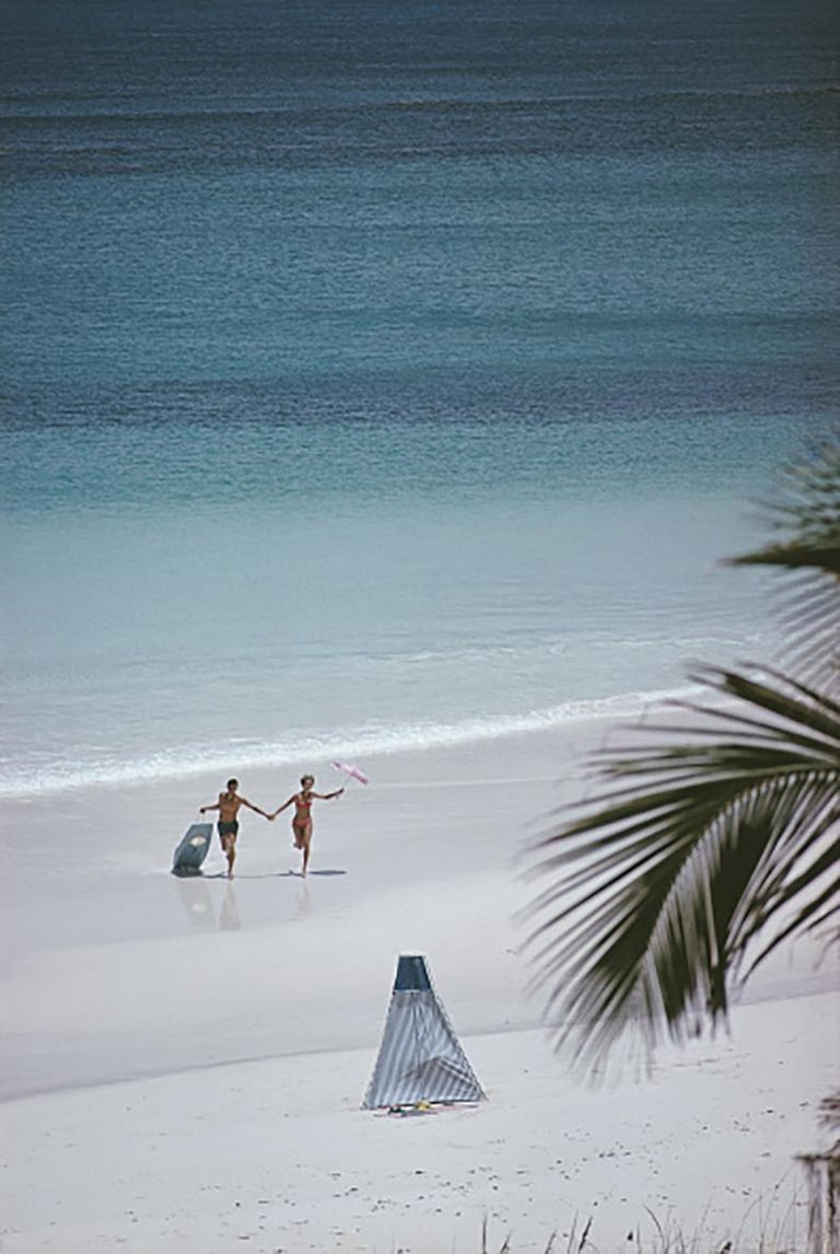 Slim Aarons Estate Edition - Harbour Island, Bahamas - Photograph by Slim Aarons