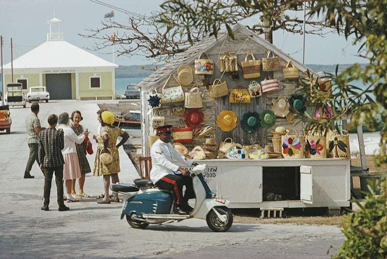 Slim Aarons Estate Edition -  Harbour Island  - Photograph by Slim Aarons