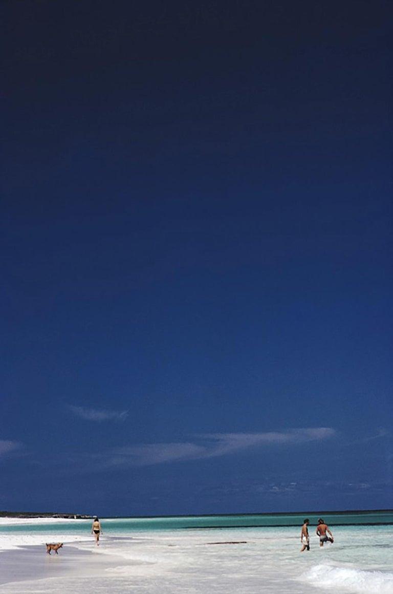Slim Aarons Estate Edition - Harbour Isle Beach - Photograph by Slim Aarons