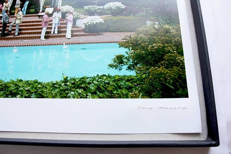 Slim Aarons Estate Edition - Il Pellicano Pool For Sale 2
