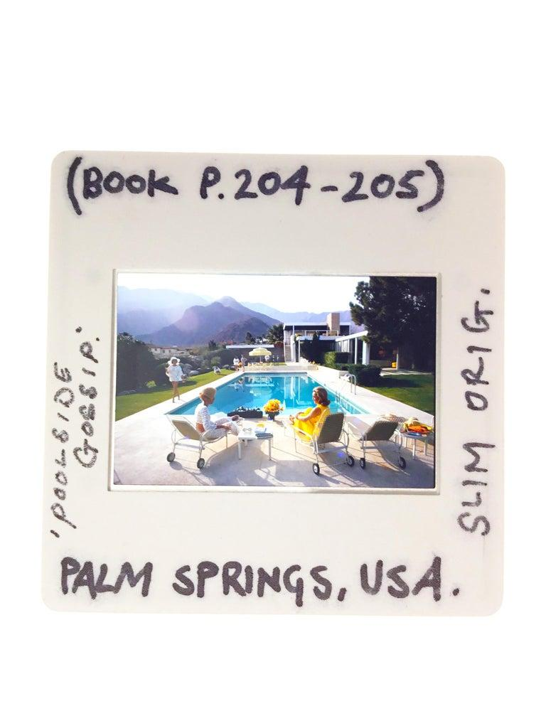 Slim Aarons Estate Edition - Lounging in Gstaad For Sale 1