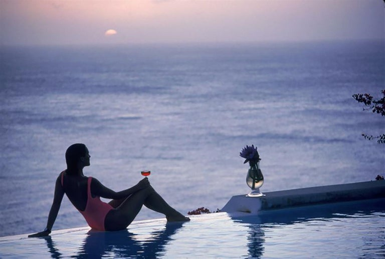 Slim Aarons - Estate Edition - Mustique Tranquility - Photograph by Slim Aarons