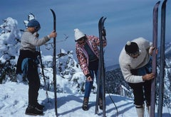 Slim Aarons Estate Edition - On The Slopes Of Sugarbush