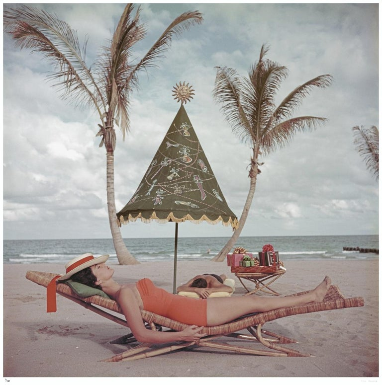 Slim Aarons Estate Edition - Palm Beach Idyll - Photograph by Slim Aarons