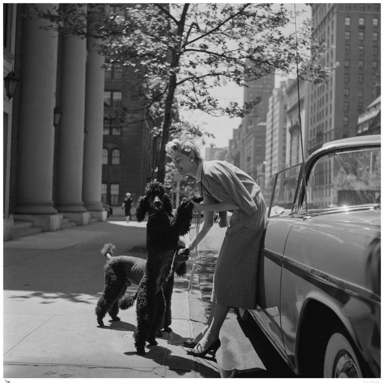 Slim Aarons Estate Edition - Park Avenue Fashion - Photograph by Slim Aarons