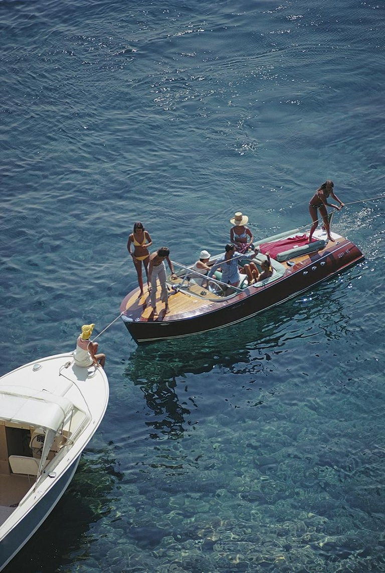 Slim Aarons Estate Edition - Porto Ercole - Photograph by Slim Aarons