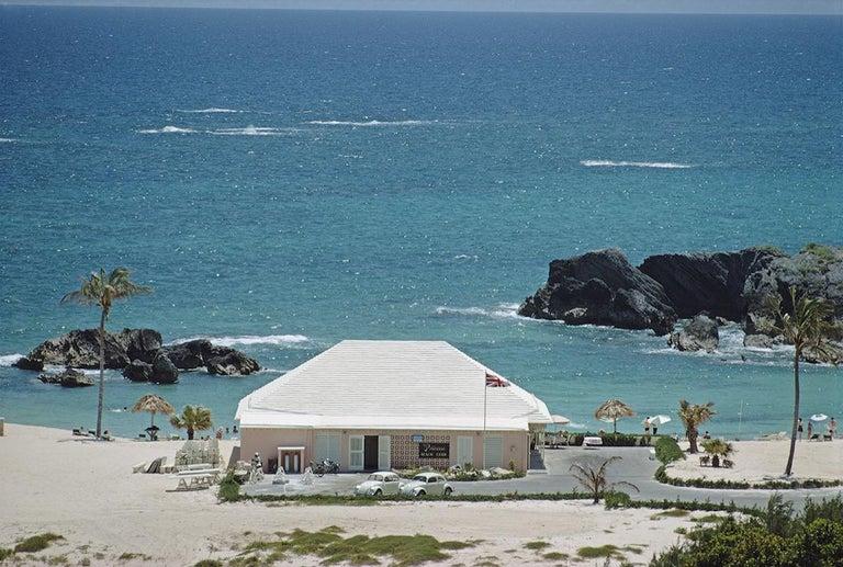Slim Aarons Estate Edition - Princess Beach Club, Bermuda - Photograph by Slim Aarons