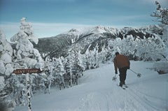 Slim Aarons Estate Edition -  Skiing At Cannon Mountain