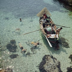 Slim Aarons Estate Edition - Snorkelling In The Shallows