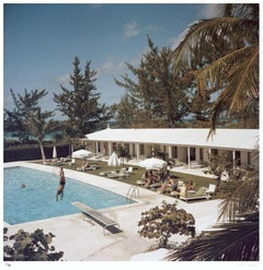 Slim Aarons Estate Edition -  Taking The Plunge